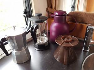 Kaffee ist gesichert